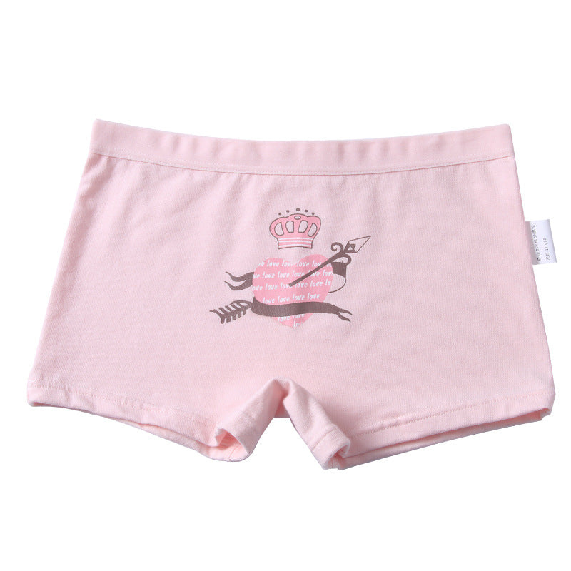 Cotton Boxer Briefs Girls' Underwear Children's