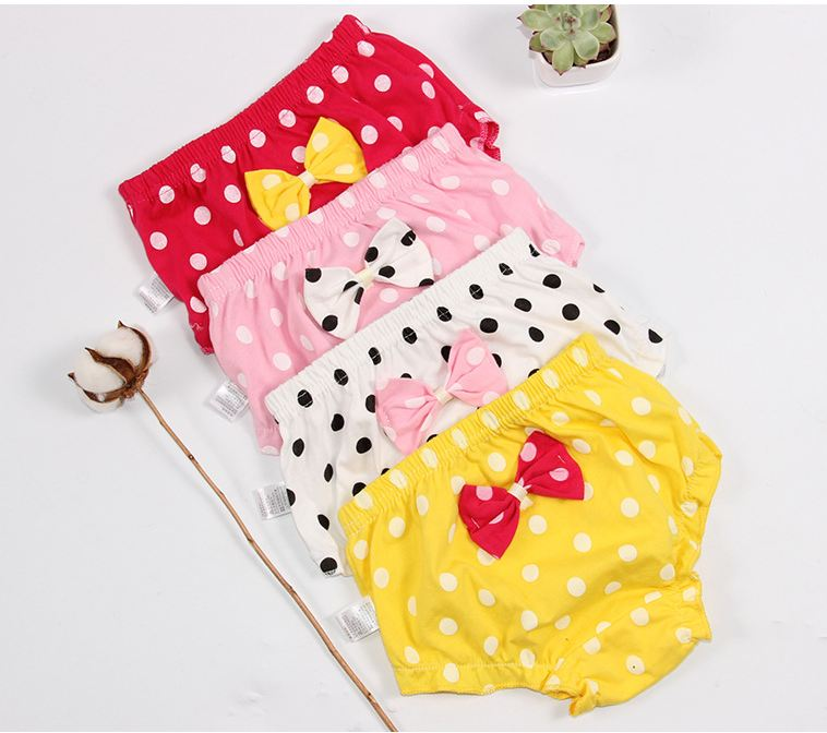 Baby underwear girl pants cotton