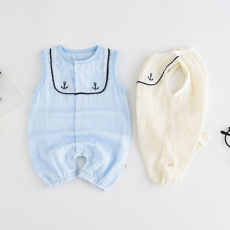 Baby clothes new jumpsuit cotton newborn