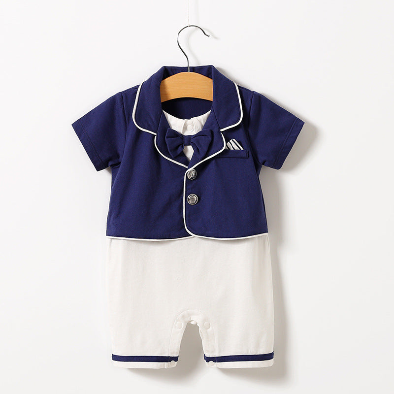 Newborn clothes baby thin short sleeves