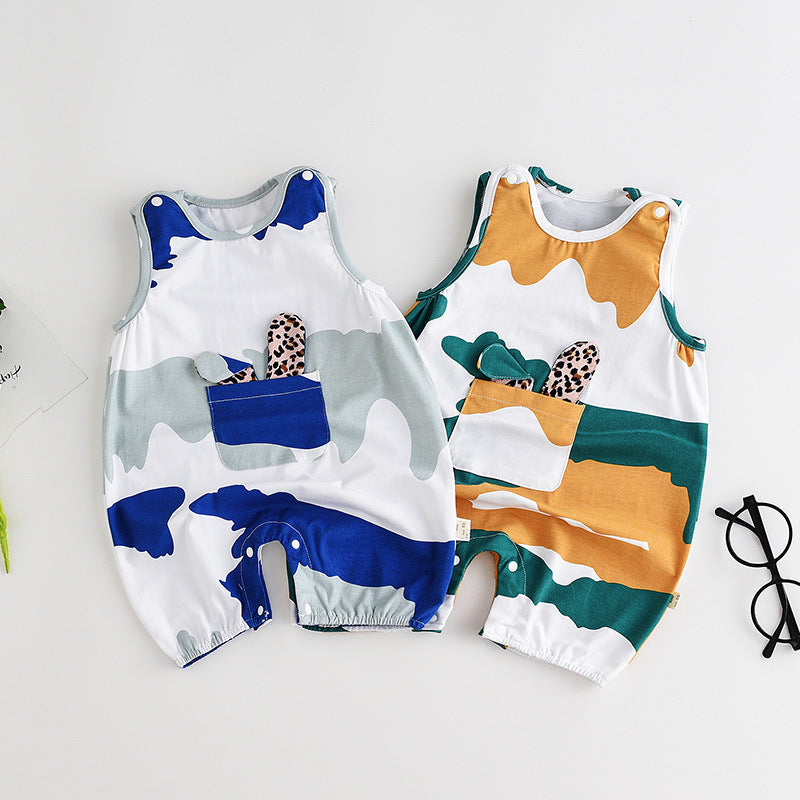 Baby clothes cotton newborn camouflage