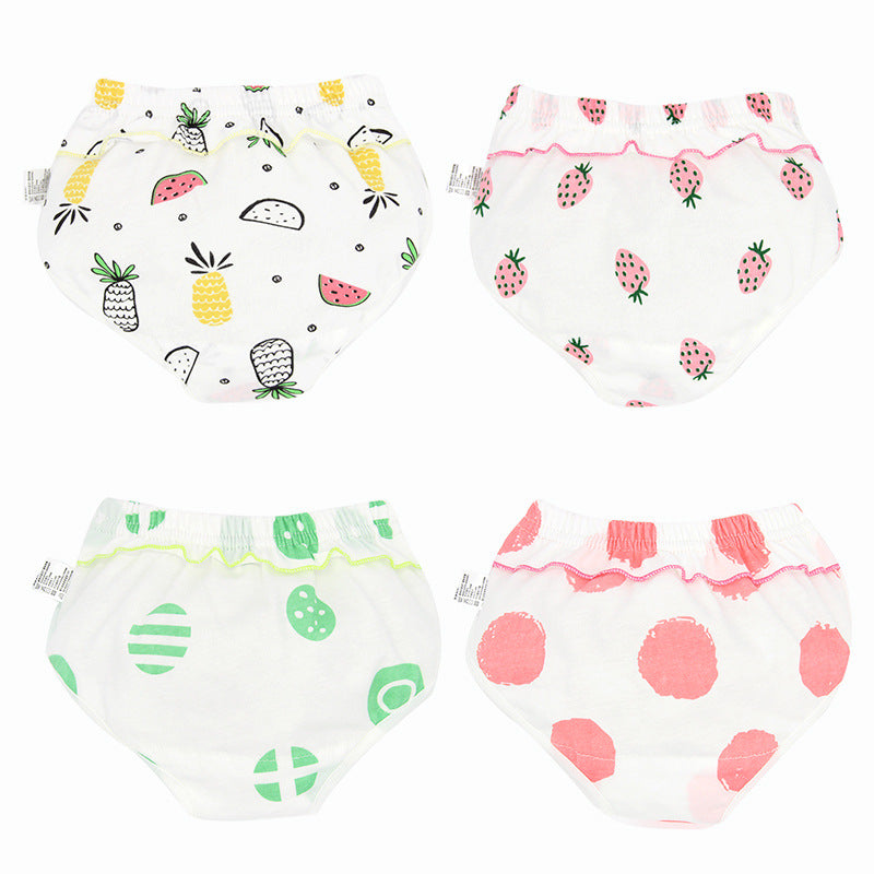 Girls cotton underwear baby