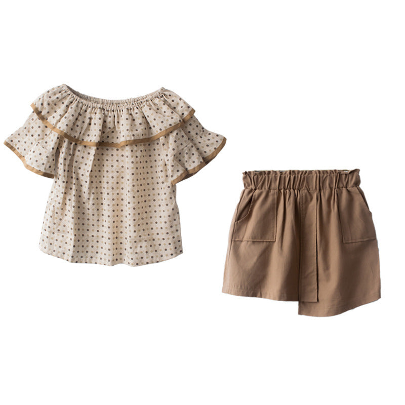 Two-piece girl set