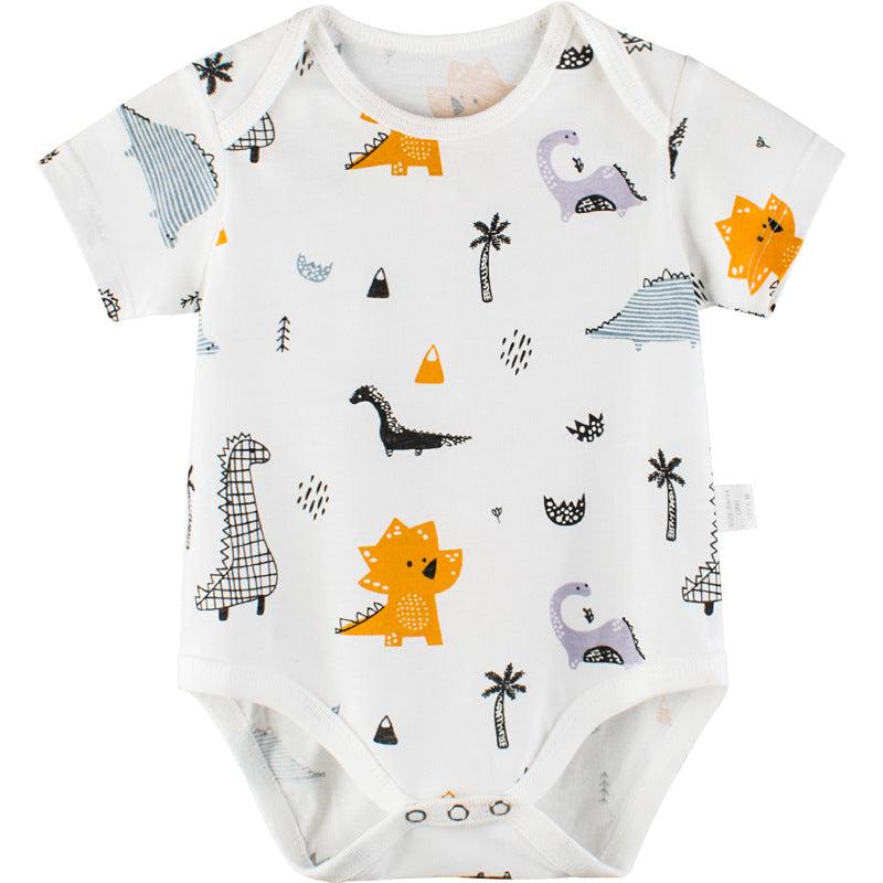 Short sleeve bodysuits for children