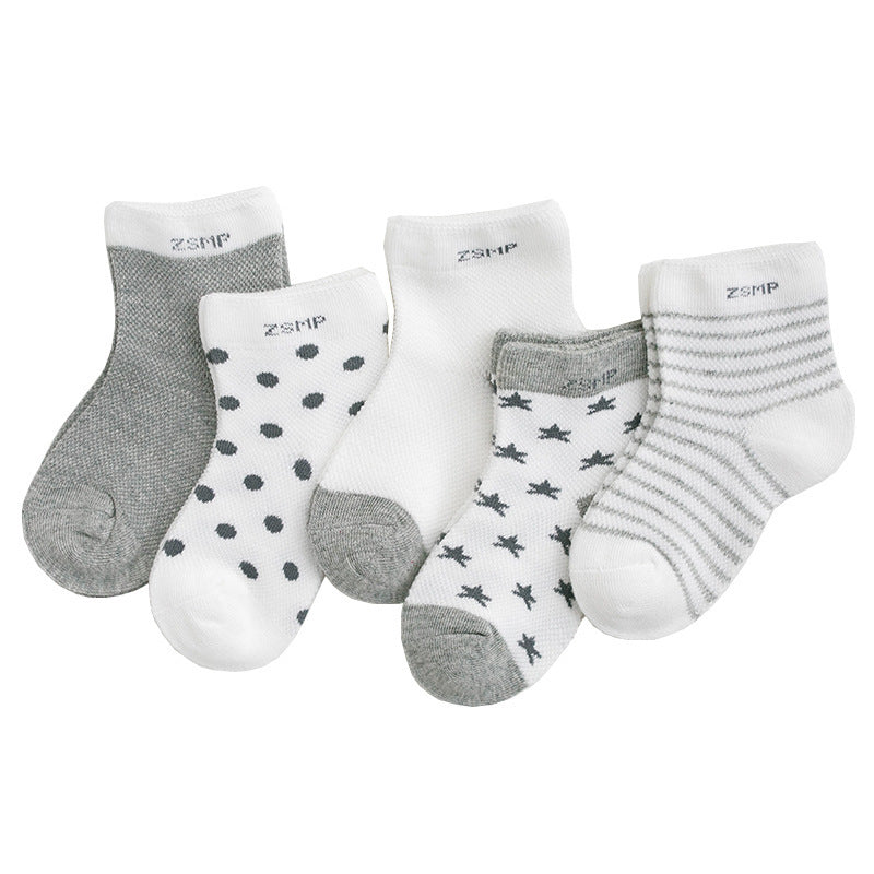 Children's socks cotton cool