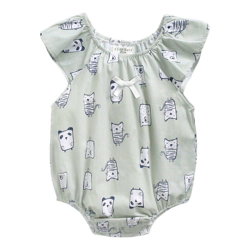 Newborn robes animal shape attire in baby panda cartoon