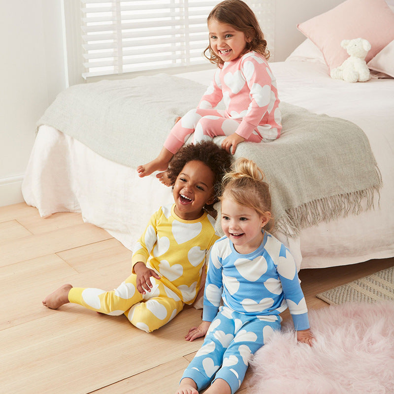 Pajamas elastic long sleeves