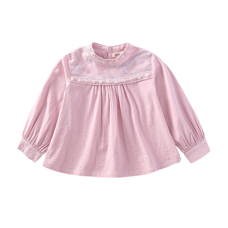 T-shirt big girls lace