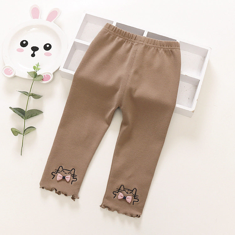 Leggings girls cotton