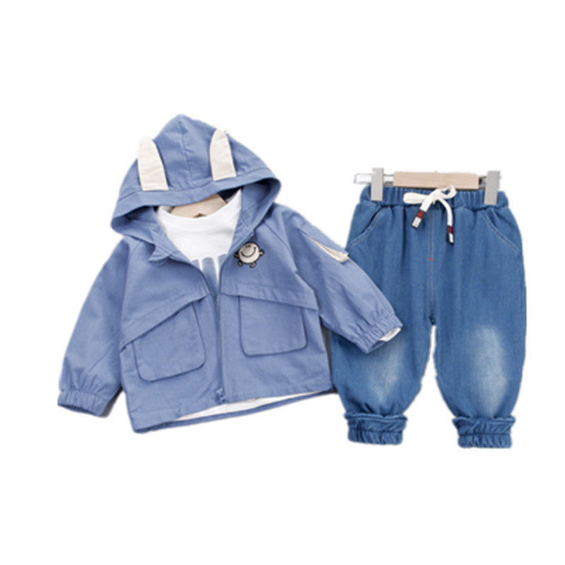 Clothing in children's three-piece