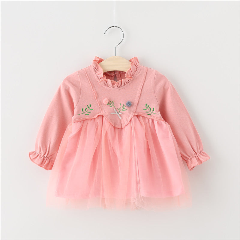Dress Girls embroidery