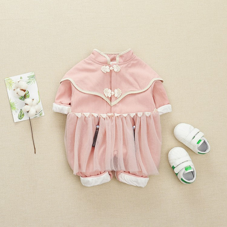 Jumpsuit girls romper baby