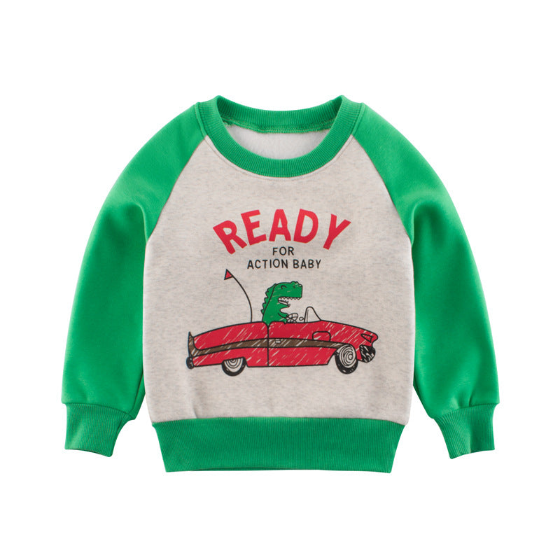 Children's sweater with print