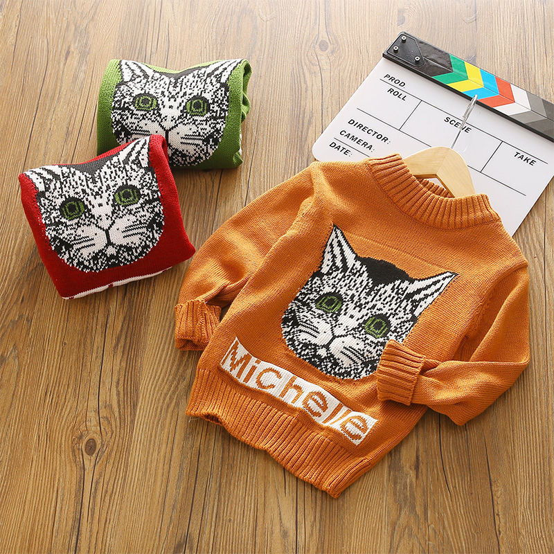 Sweater children's long sleeve