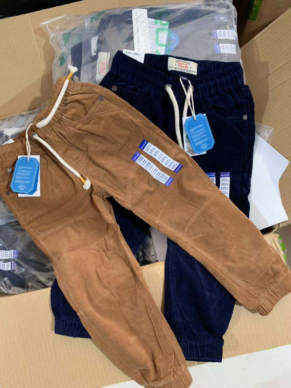 Corduroy trousers casual