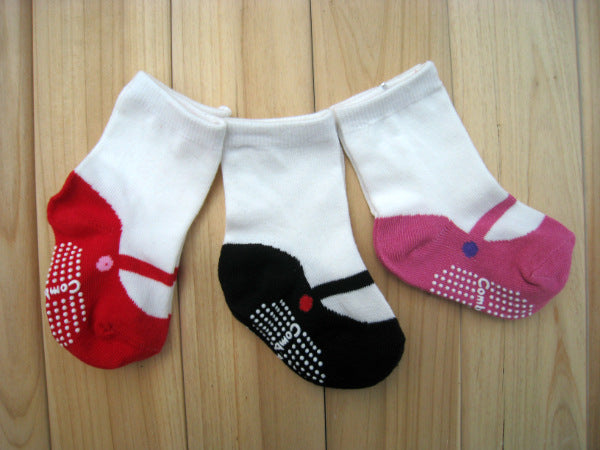 Children's socks ballet cotton  comfortable non-slip