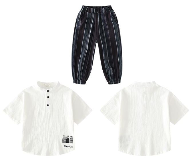 Set boys clothing two - piece