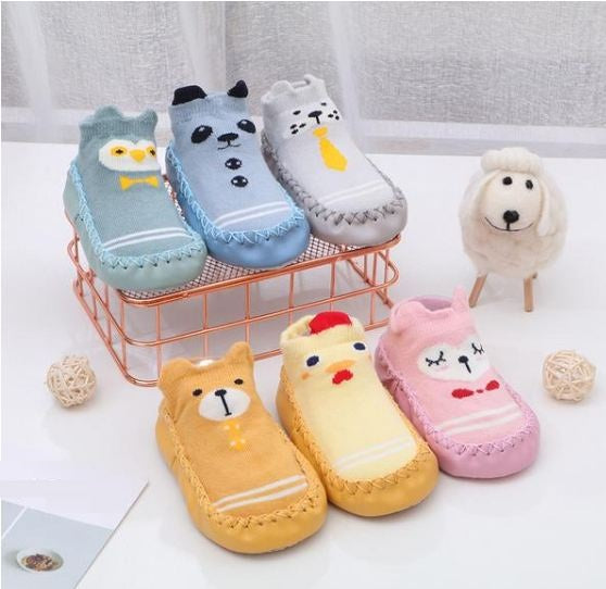 Children's socks baby floor  three-dimensional cotton