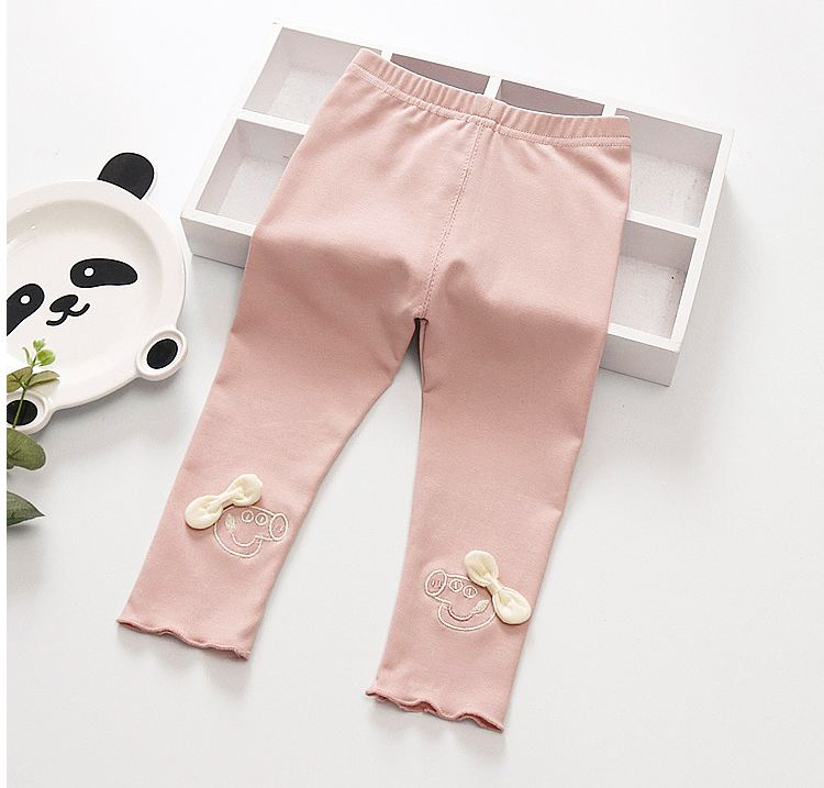 Girls leggings cotton cartoon