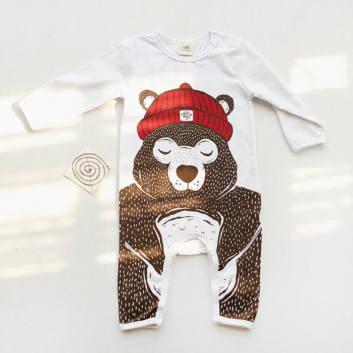 Baby Rompers Long Sleeve Newborn - Kidsalia