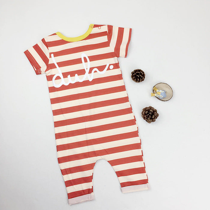 Baby short-sleeved romper - Kidsalia
