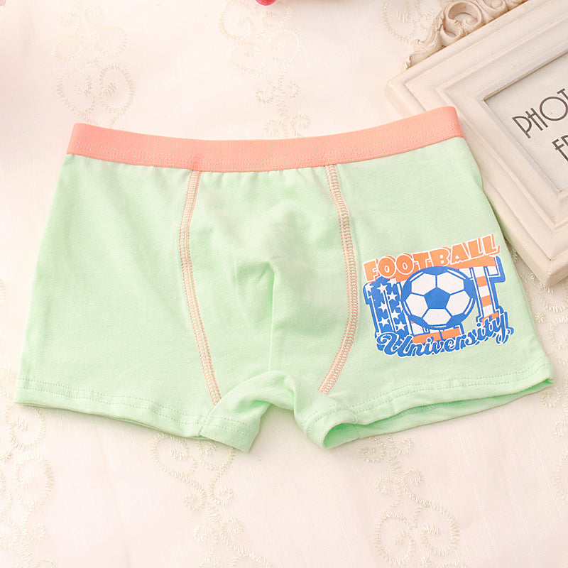 Children's underwear cotton four-corner