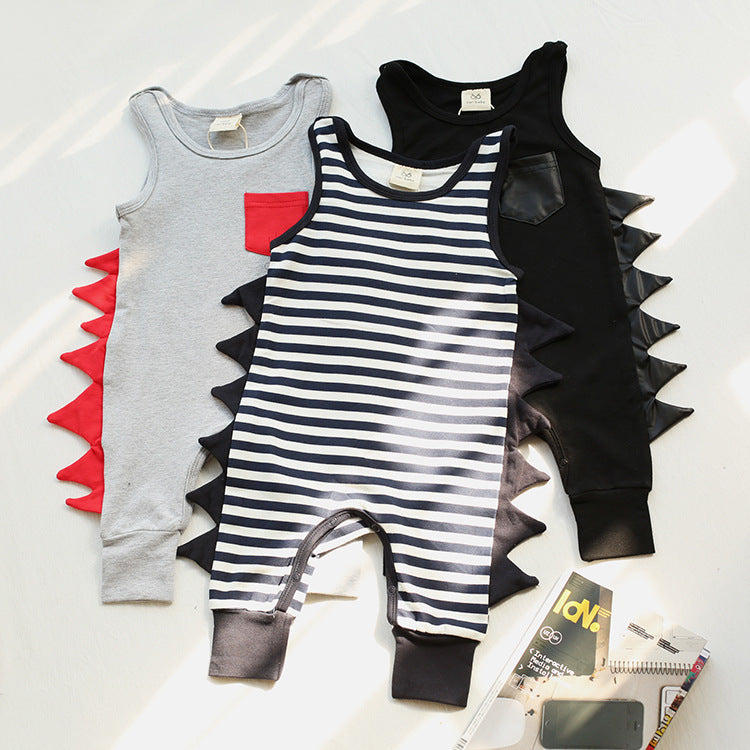 Baby Clothes Newborn One Piece Vest - Kidsalia