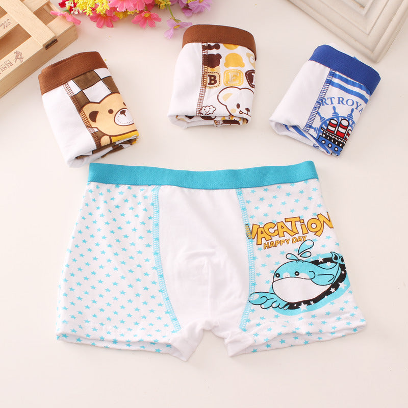 Boys' underwear cotton
