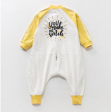 Pajamas Baby children cotton anti-kick - Kidsalia