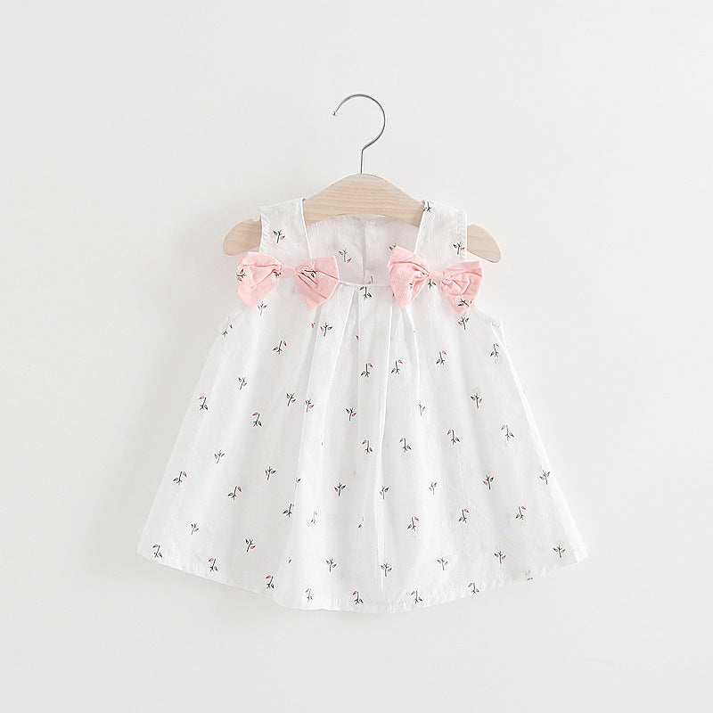 Girls flower print dress