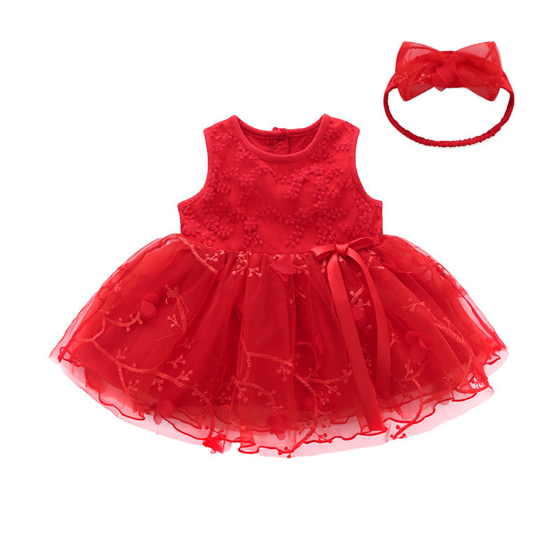Baby Lace Princess Dress One-Piece