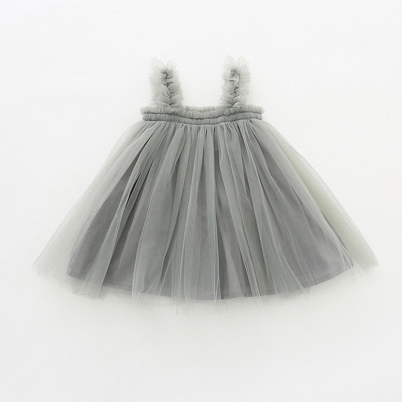 Dress children's mesh skirt