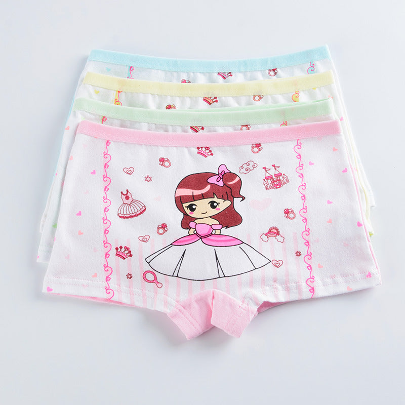 Girls Boxer BriefsUnderwear Cotton
