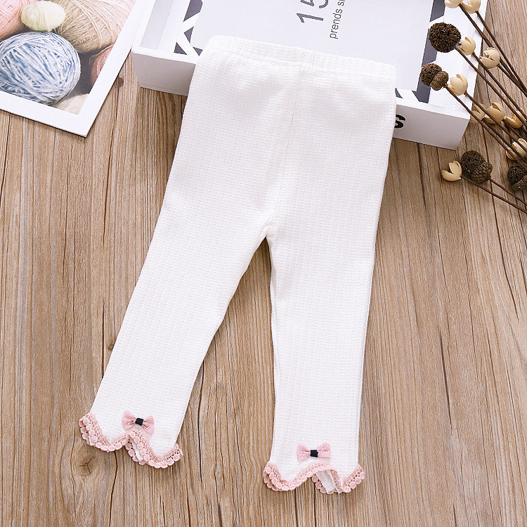 Girls leggings cotton