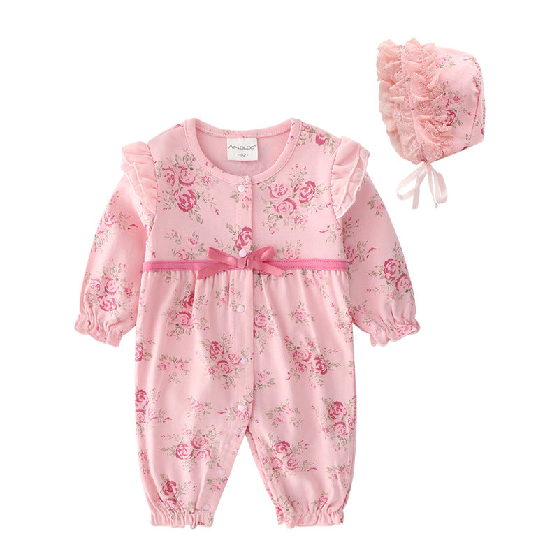Baby girl jumpsuit romper newborn