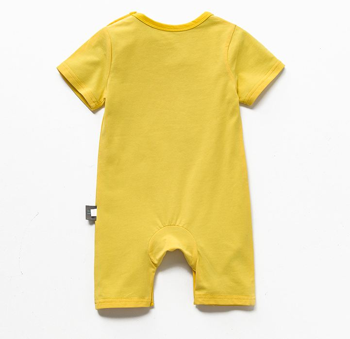 Baby pajamas old short-sleeved newborn thin - Kidsalia