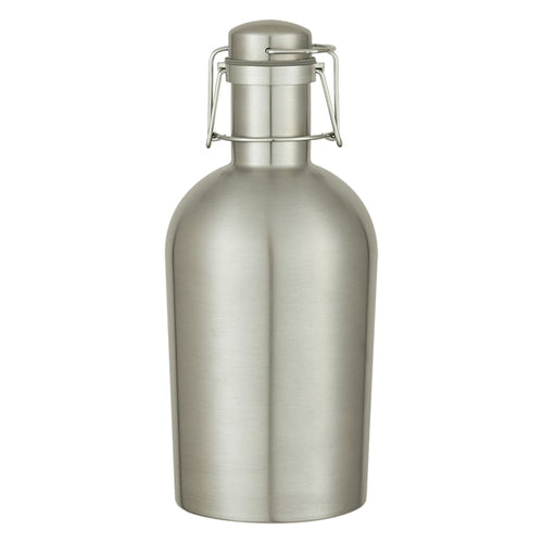 64 Oz. Stainless Steel Growler SILVER