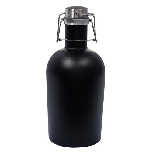 64 Oz. Stainless Steel Growler MATTE BLACK