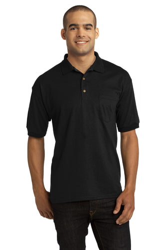 Gildan DryBlend 6-Ounce Jersey Knit Sport Shirt with Pocket