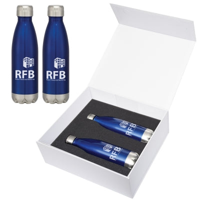 16 Oz. Swiggy Stainless Steel Bottle Gift Set