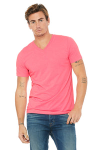 Bella+Canvas UNISEX JERSEY SHORT SLEEVE V-NECK TEE