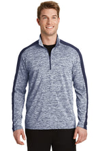 Load image into Gallery viewer, Sport-Tek PosiCharge Electric Heather Colorblock 1/4-Zip Pullover