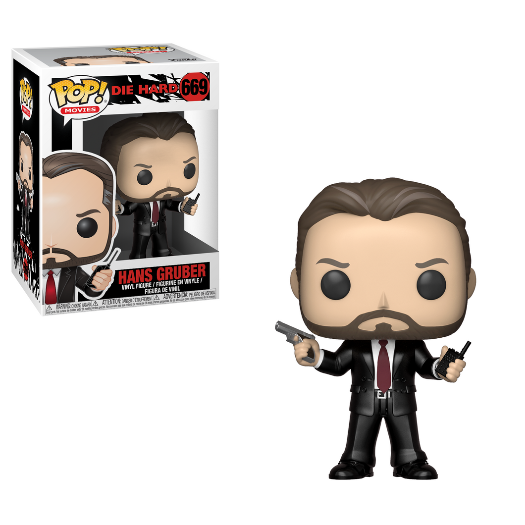 POP Movies: Die Hard - Hans Gruber