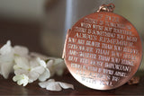 I'll always be with you... Copper Locket
