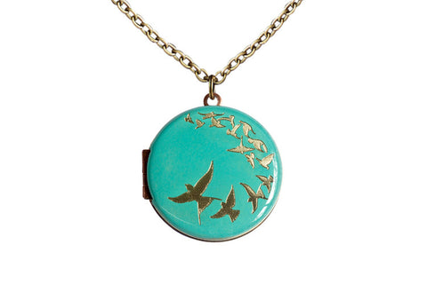 Find your wings and fly... Bird Locket