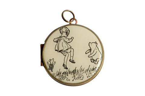Great Britain - WINNIE THE POOH, CHRISTOPHER ROBIN & PIGLET (30mm)