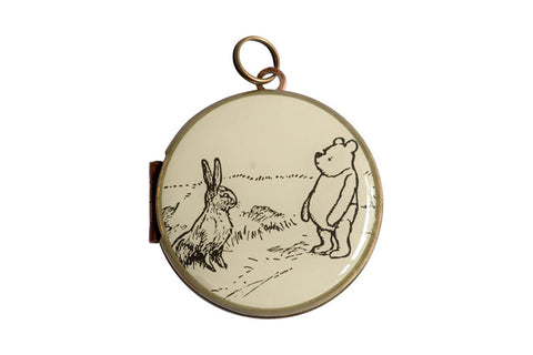 Great Britain - WINNIE THE POOH & RABBIT (30mm)