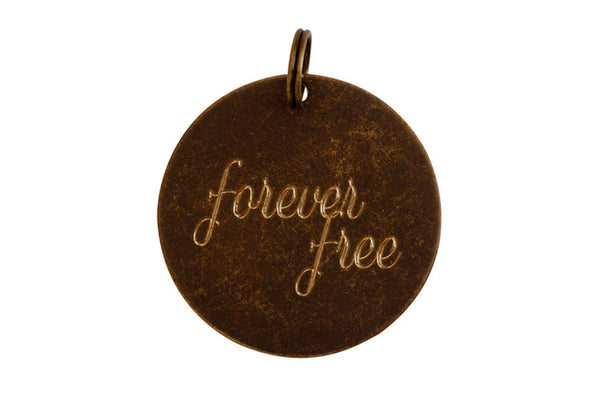 Forever Free Charm