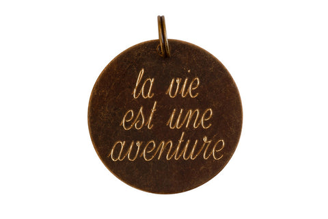 Life Is An Adventure French Charm