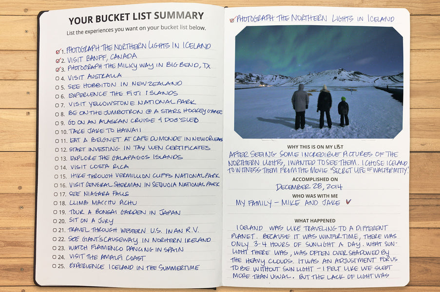 Benefits of The Reverse Bucket List